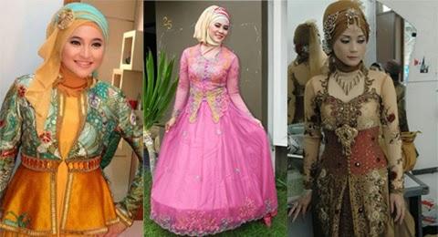 model baju kebaya hijab orang gemuk