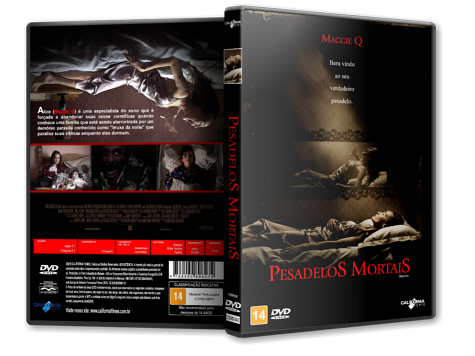 Capa DVD Pesadelos Mortais