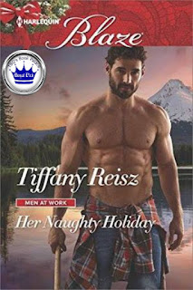 romance novel cover, contemporary romance, Her Naughty Holiday by Tiffany Reisz