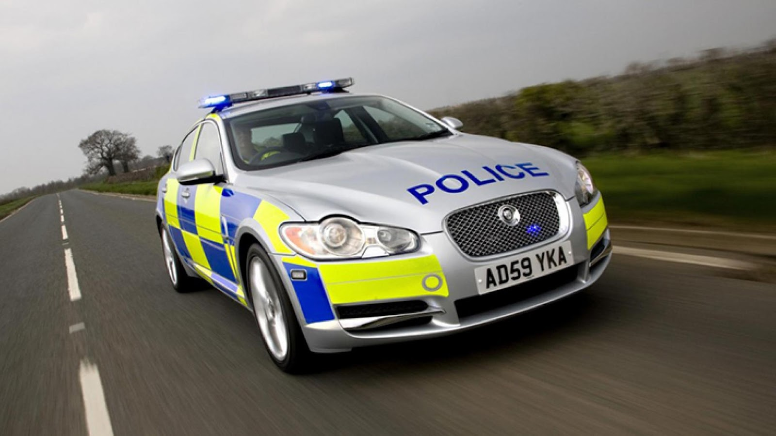 UK police Jaguar XF