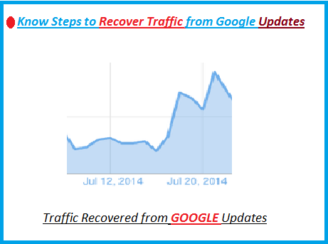 Recover Lost Traffic From Google Panda and Penguin Updates