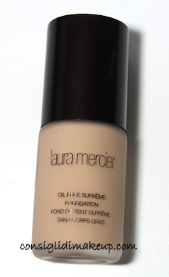 review fondotinta Fondotinta Oil Free Supreme Laura Mercier