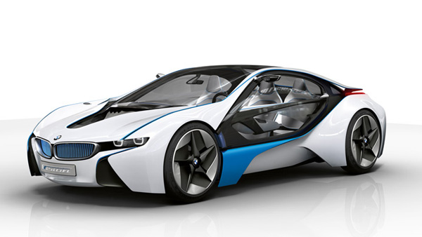bmw i8 mobil sport tenaga listrik yang canggih