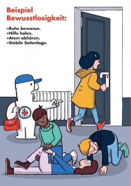 Erste Hilfe, rotes Kreuz, Notfall