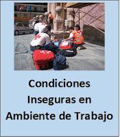 Condiciones Inseguras en Ambiente de Trabajo.
