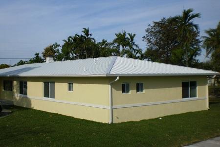 Hurricane Resistant Metal Roof