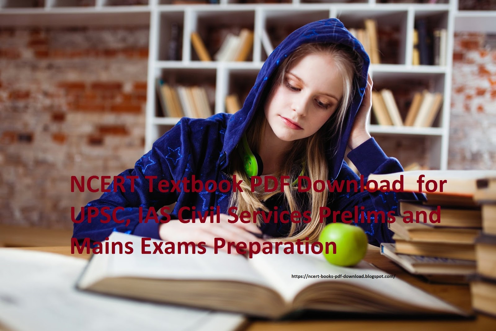 NCERT Textbook PDF Download  for UPSC, IAS Civil Services Prelims and Mains Exams Preparation