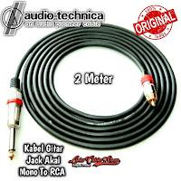 Kabel Gitar 2 Meter Jack Akai Mono To RCA