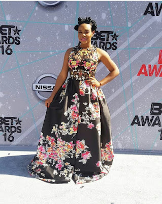 YEMI ALADES DRESS TO BET 2016