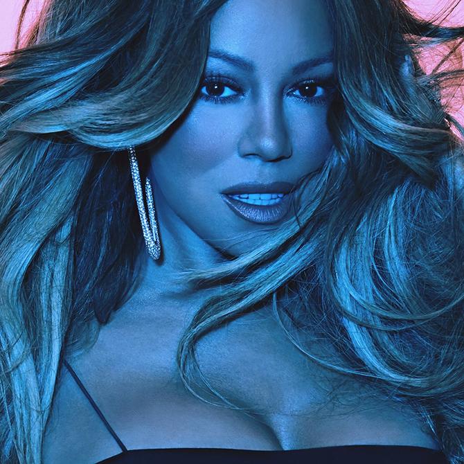 Album cover: Mariah Carey - Caution | Random J Pop