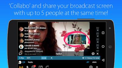 Truco transmite video en vivo