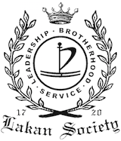 Lakan Society Badge B&W