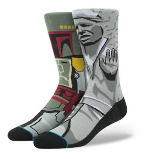 star wars socks hans solo frozen carbonite