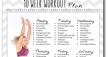 The anywhere (and everyday) workout. Easy daily work out ...
