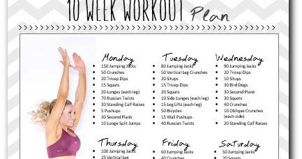 10 Week Workout Plan - To Insanity & Back