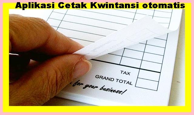 Download Aplikasi Cetak Kwitansi BOS Otomatis