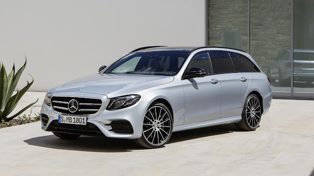 The new Mercedes-Benz E-Class Estate