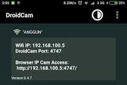 Cara Menjadikan Android Sebagai WebCam pada Komputer