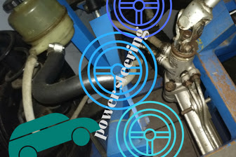Pengertian,Fungsi dan Cara kerja Power Steering