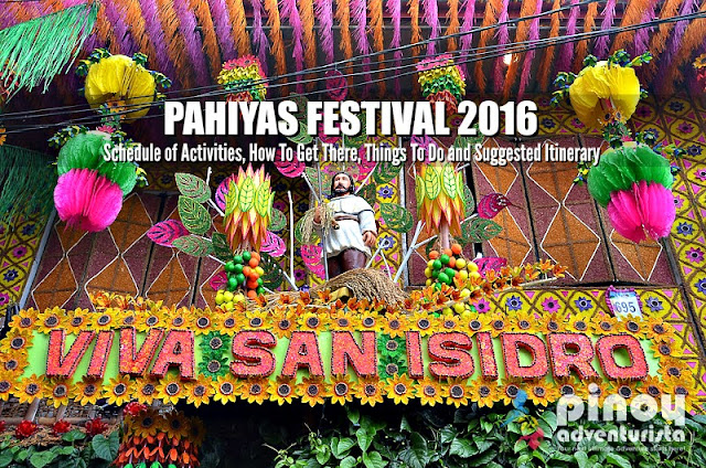 LUCBAN PAHIYAS FESTIVAL 2016 Schedule of Activities, How To Get There, Things To Do and Suggested Itinerary
