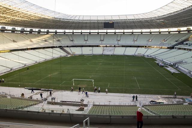 Castelão será inaugurado neste domingo (16/12/2012)