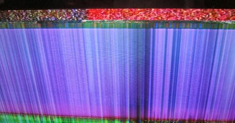 Tv Lcd Gambar Bergaris Garis Vertical Flicker