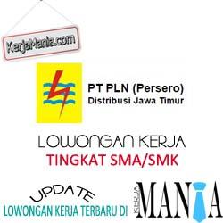 Lowongan Kerja PT PLN Distribusi Jawa Timur