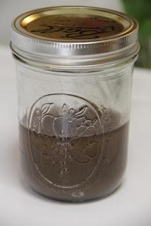 Finished box elder syrup