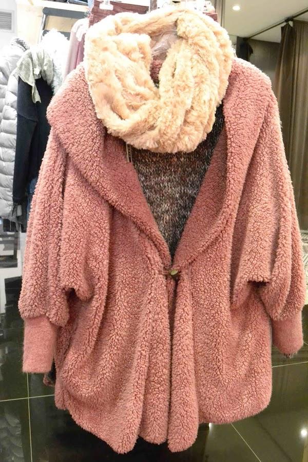 """""""Abrigo grande rosado"""""""