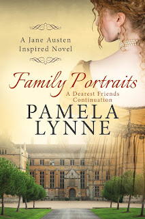 Book cover: Family Portraits by Pamela Lynne