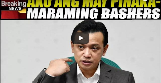 Trillanes Aminadong Siya Ang May Pinakamaraming Ba$hers!