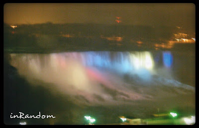 Niagara Falls view from hotel #2