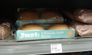 Gluten free brioche style buns from Just: Gluten Free Bakery
