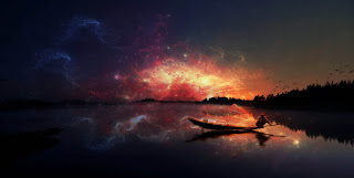 Amazing effect in the space hd wallpapers