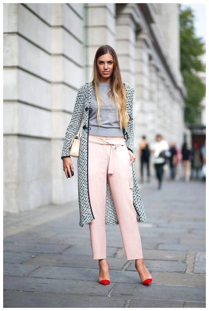 Pantalones de Color Rosa Mujer 2017  Moda y Tendencias 2018  2019  SomosModanet