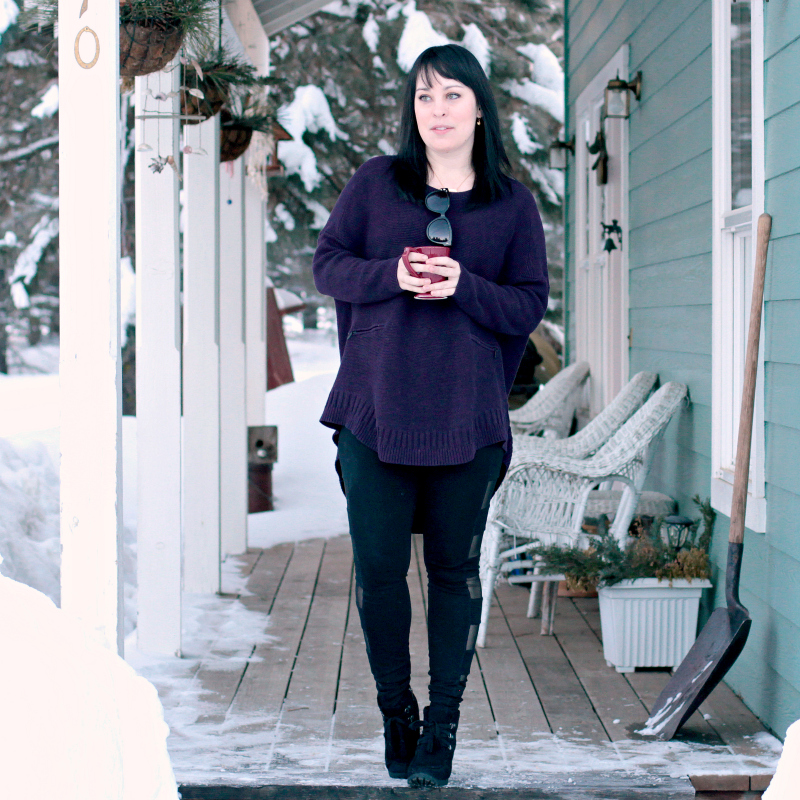 Three Tips for Pairing Sweaters and Leggings