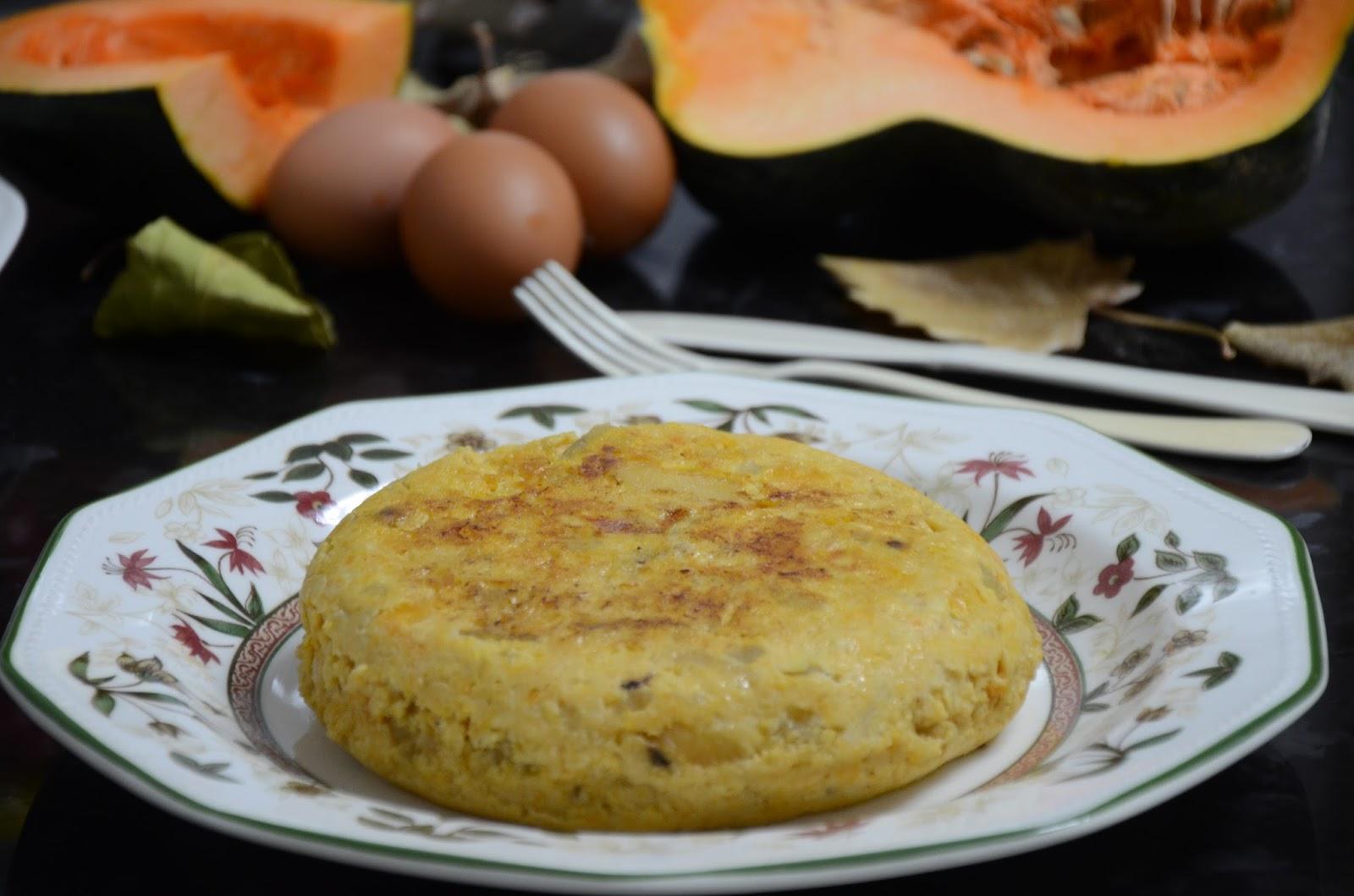 La cocina de puri pastor tortilla de calabaza for Cocina 5 ingredientes jamie