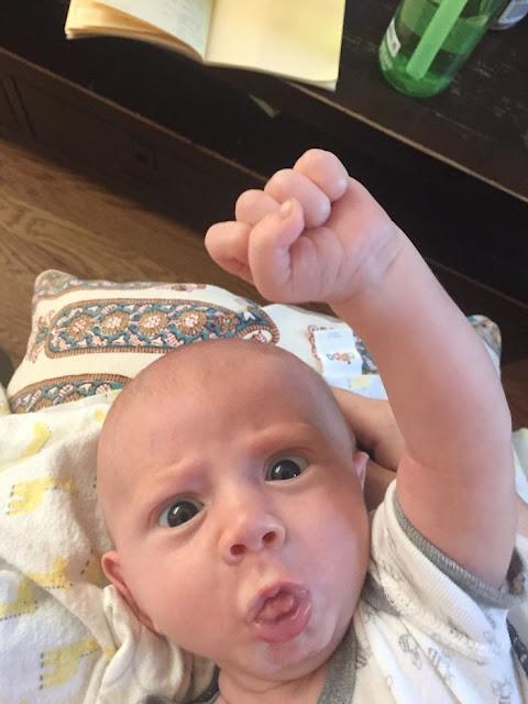 Le bébé le plus expressif au monde