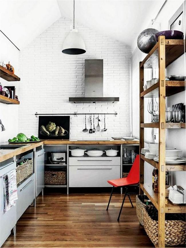 17 fotos de cocinas decoradas para inspirarte for Paletas de cocina decoradas