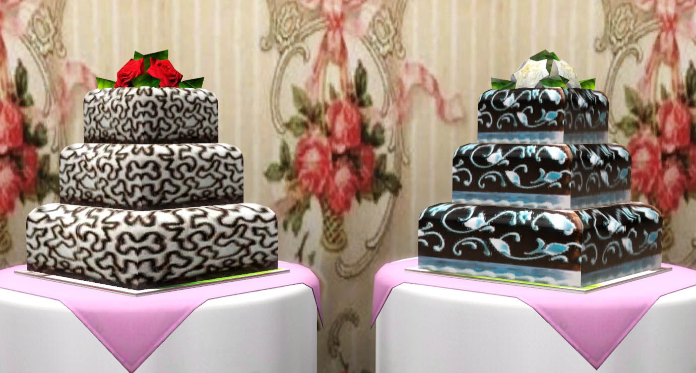how to cook wedding cake sims 4 ladesire s creative corner wedding cakes by ladesire 15608