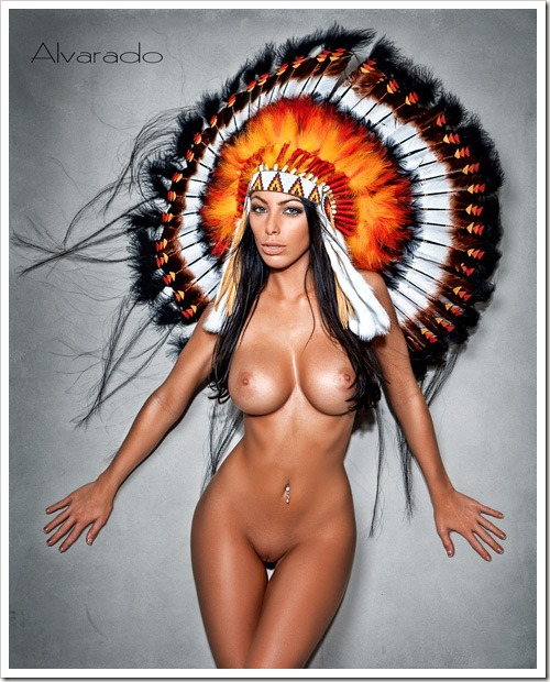 naked native america women