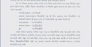 11th Science Admisssion Process Official Guidline From Government of Gujarat