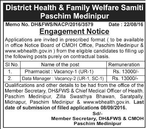 Health & Family Welfare samiti Paschim Medinipur