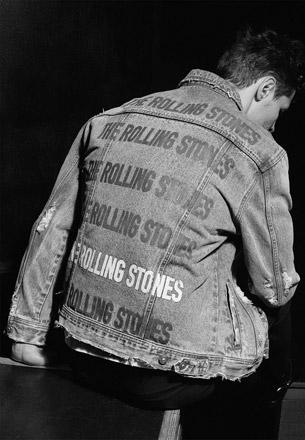 Rolling Stones cazadora vaquera Zara