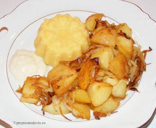 Cartofi manastiresti de post retete culinare,