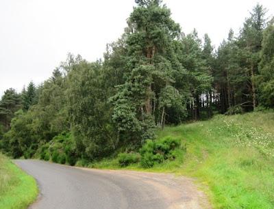 Approaching Knock Castle - Deeside Walks