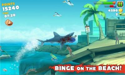 Download Hungry Shark Evo + MOD Android zona-games.com