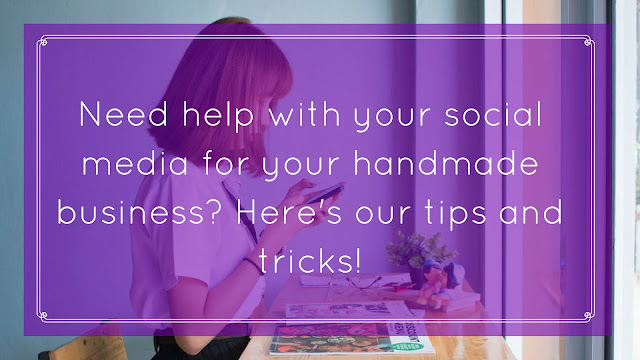 social media handmade business