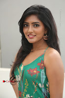 Actress Eesha Latest Pos in Green Floral Jumpsuit at Darshakudu Movie Teaser Launch .COM 0092.JPG