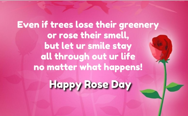 Happy Rose Day Quotes SMS and Messages 2018 in Telugu English